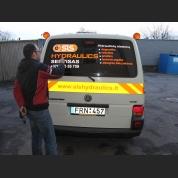 Reklama ant transporto