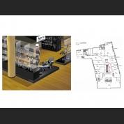 Individualių prekybinių vietų baldų gamyba